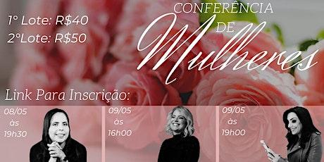 Conferência de Mulheres ingressos