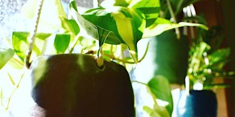 Sip N' Sculpt - Create a Hanging Planter tickets
