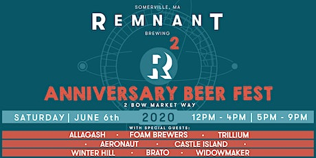 Remnant Anniversary Beer Fest tickets