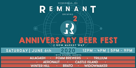 Remnant Anniversary Beer Fest - POSTPONED DATE TBA tickets