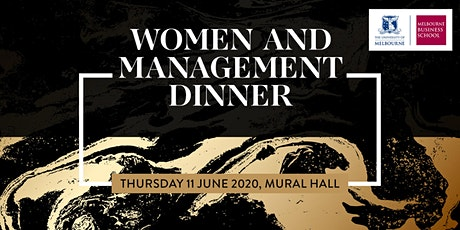 Woman and Management Dinner 2020 tickets