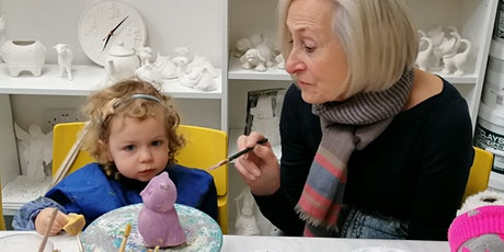 Children Pottery Painting  - Sunday Registration tickets