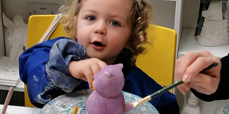 Children Pottery Painting  - Friday Registration tickets