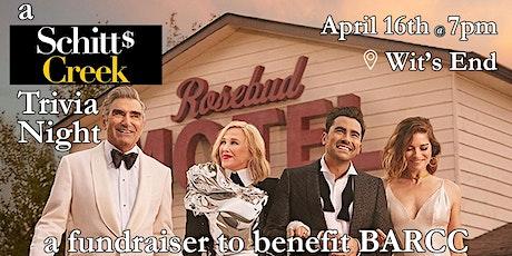 [POSTPONED] Schitt's Creek Trivia Night to Benefit BARCC tickets