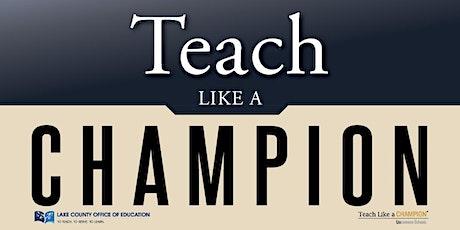Teach Like A Champion tickets
