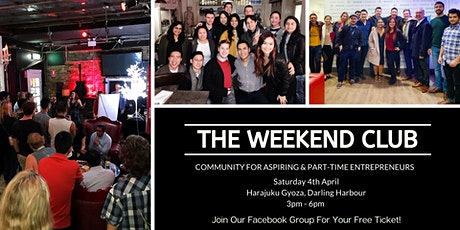 The Weekend Club - Networking Drinks for Entrepreneurs & Friends tickets