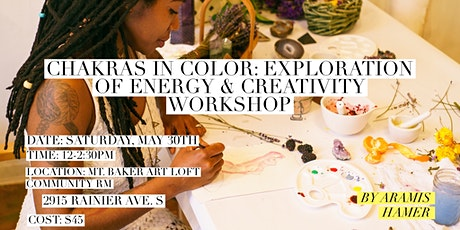Chakras in Color: Exploration of Energy & Creativity tickets