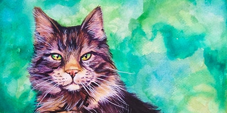 Paint Your Pet Sundays Watercolor in April tickets