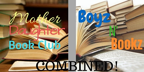 April Combined Mother Daughter/Boyz 'N Bookz Club tickets