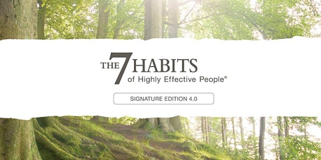 7 Habits of Highly Effective People 2-Day Workshop tickets