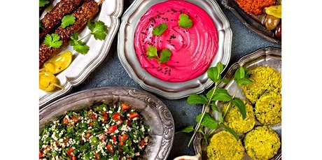 Cooking WIth Friends - MIDDLE EASTERN FOOD (08-18-2020 starts at 6:00 PM) tickets