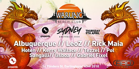 ★ Warung  Club Sydney ★ tickets