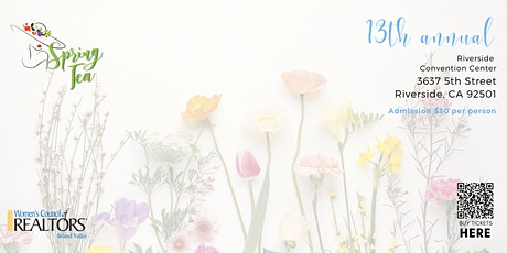 13th Annual Spring Tea tickets