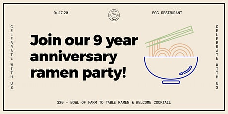 Local Roots 9 Year Ramen Party tickets