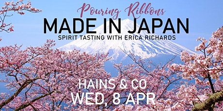 "POURING RIBBONS ""Made in Japan"" Spirit Tasting with Erica Richards tickets"