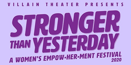 Stronger Than Yesterday 2020 tickets