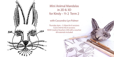 Mini Animal Mandalas for Kindy-Yr. 2 Term 2 tickets