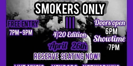 Smokers Only III Concert  tickets