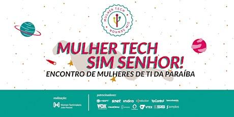 Mulher Tech Sim Senhor 2020 ingressos