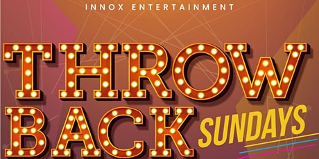 Throwback Sundays (Hip hop, RnB, Afrobeats, Kizomba, Dancehall & Reggae....) tickets