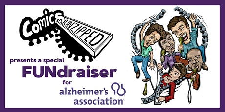 Comics Unzipped FUNdraiser for Alzheimers' Association tickets
