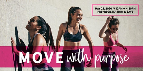 M O V E  With Purpose - A road map to a happy, active mind, body & spirit. tickets