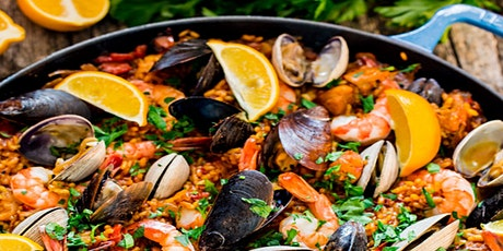 Date Night: Cooking Class - PAELLA Cooking Class w. Sangria tickets