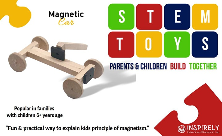 Creative Family Fun Time : STEM Toy Building Workshop in Brampton image