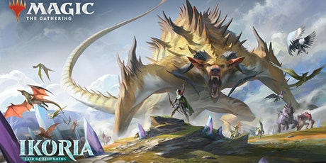 Magic the Gathering Ikoria Lair of Behemoths  Two-Headed Giant Prerelease tickets