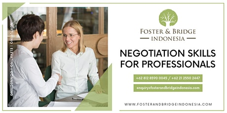 Negotiation Skills for Professionals tickets