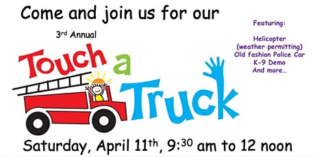 3rd Annual Touch a Truck at Goddard & Open House tickets