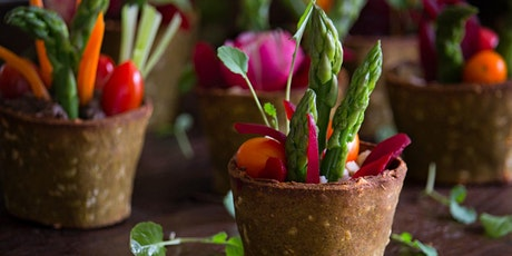 Plant Based Cooking Class: Edible Spring Flowerpots tickets