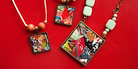 Free Artist Demonstration: Anthea Piszczuk (Collage Jewellery) tickets