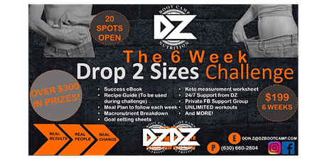 The 6 Week Challenge. tickets
