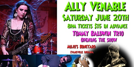Ally Venable Band with the Tommy Baldwin trio opening the show at Mojo's tickets