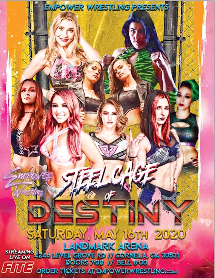 Empower Wrestling Presents: Steel Cage Of Destiny image