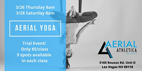 Aerial Yoga Trial Event! tickets