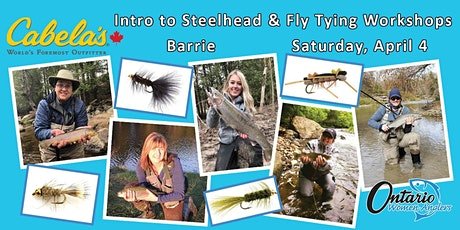 Intro to Steelhead Fishing and Fly Tying Workshops tickets