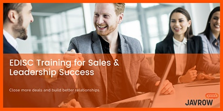 EDISC for Sales People - Communications Training for business tickets