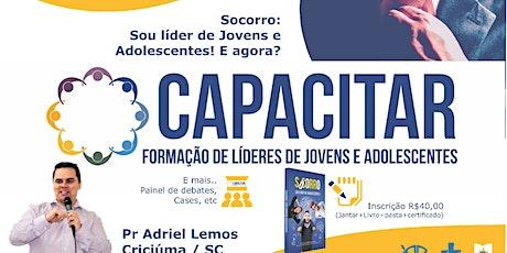 CAPACITAR 2020 - Formação de Líderes de Jovens e Adolescentes ingressos