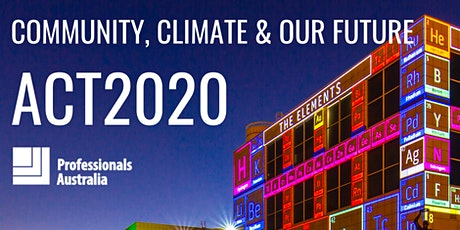 ACT2020 - Community, climate & our future tickets