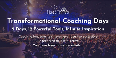 Rise & Thrive Transformational Coaching Days tickets