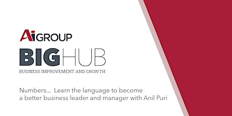 Numbers...the Language of Business Workshop with Anil Puri -ONLINE EVENT tickets