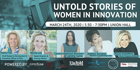 Postponed: Untold Stories of Women in Innovation  tickets
