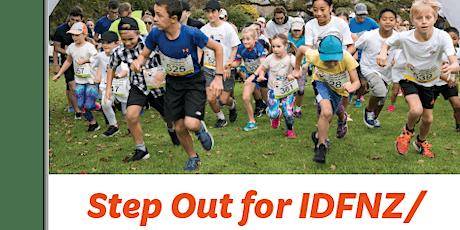 Step out for IDFNZ - Fun Run tickets