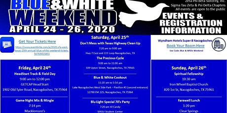 2020 SFA (East Texas) 25th Annual Blue & White Weekend tickets