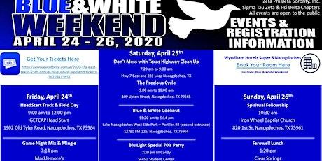 2020 SFA (East Texas) 25th Annual Blue & White Weekend tickets
