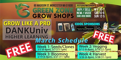 Grow Like A Pro, Indoor and Outdoor. tickets