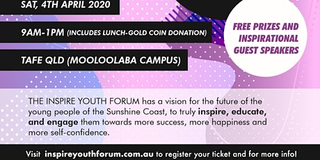 INSPIRE YOUTH FORUM (4)- EVENT POSTPONED tickets