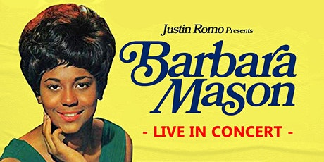 BARBARA MASON LIVE - Friday Show tickets